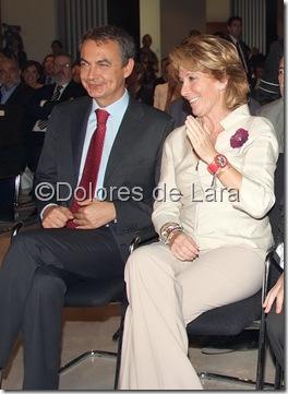 Con Esperanza Aguirre en la inauguración de un parador en Alcalá de Henares