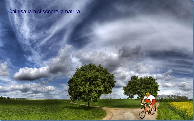 Bici scopre natura