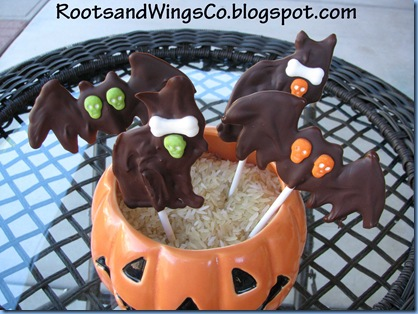 chocolate Halloween shapes