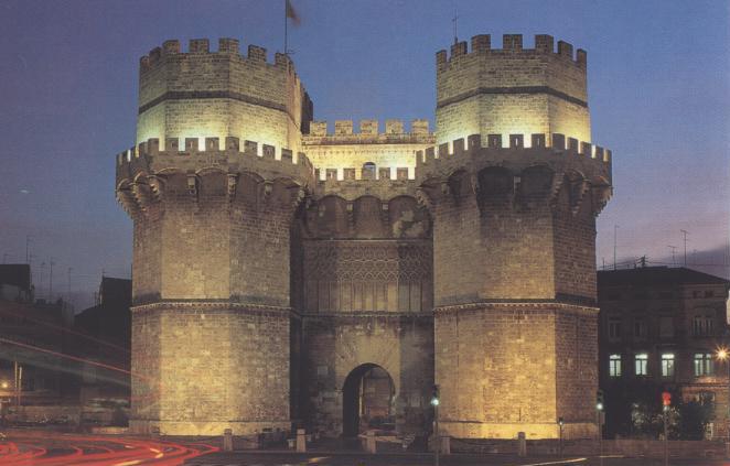 недвижимость в Испании, башни серранос