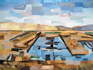 Open Skies by collage artist Megan Coyle