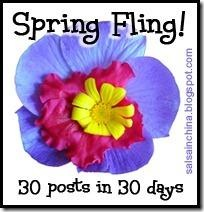 spring fling button