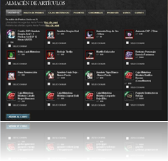 Almacén de artículos - Shaiya Latinoamérica_1278378366427