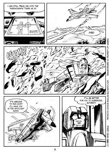 Comics Project - Transformers - As fallen from the Sky - page 03