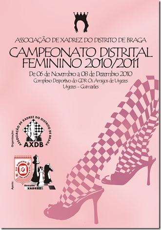distrital feminino cartaz