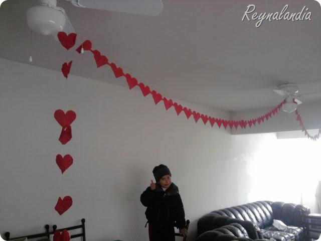 Reyna orozco decoraci n de tu casa con corazones para el for Decoracion amor y amistad oficina