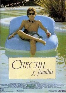 Poster Chechy y familia