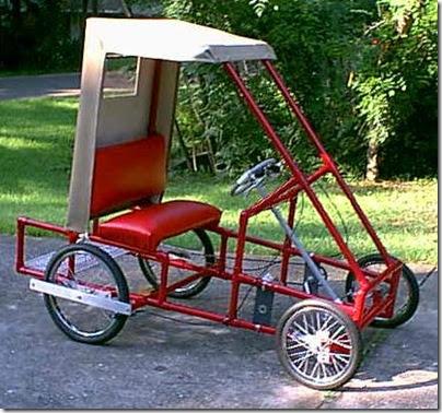Bicicletas de quatro rodas - Bizarrices Automotivas