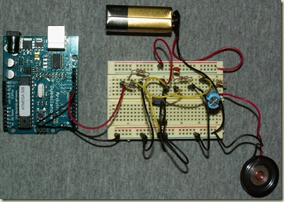 ArduinoAmplifiedSpeaker