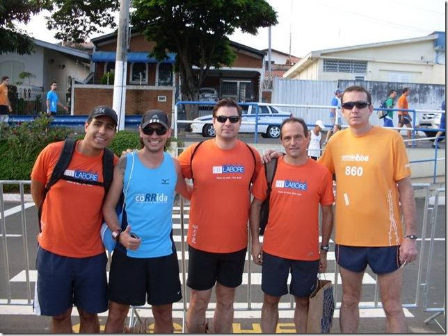 Rogerio, Eu, Augusto, Valter e amigo deles de Piracicaba