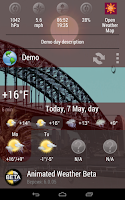 Screenshot of Animated Weather Widget&Clock