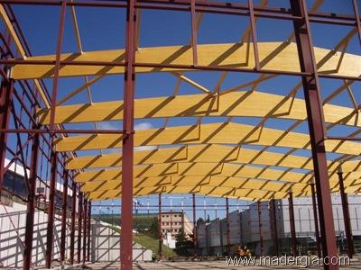 Blog t cnico de la madera montaje de madera laminada - Estructuras de madera laminada ...