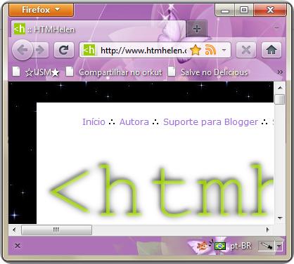 HTMHelen no Firefox 4