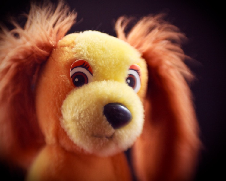 Lensbaby Meets Stuffed Animal
