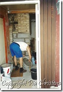 Ny væg til varmtvandsbeholder
