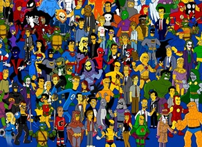 Superheroes Lineup