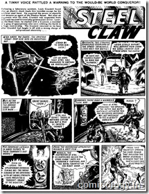 Valiant - Steel Claw Adventure - 1967 (Original)
