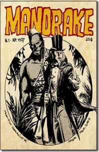 Mandrake the Magician - Comic Book Book (1937)
