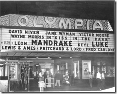 Mandrake's Show on Oympia Theatre (1949)