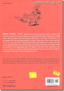 The Dreamer Back Cover (WW Norton Edition) 2008