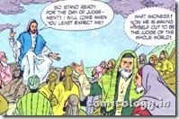 Jesus declares the Arrival