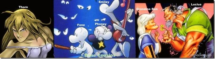 Bone Saga's Main Characters
