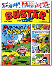 Faceache on Buster Cover (Rare)