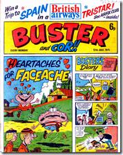 Faceache on Buster Cover (Rare)
