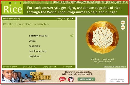 blog free rice
