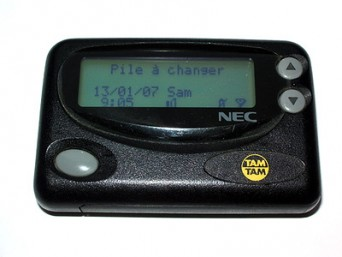 Pager NEC