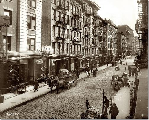 Mott Street 1910