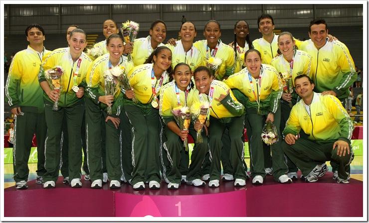 Brasil se lleva el oro en Baloncesto Femenino