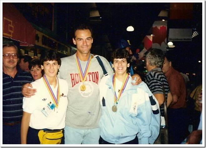 Vanira, Oscar e Vania Pan Americano em Indianapolis