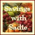 Savings With Sadie
