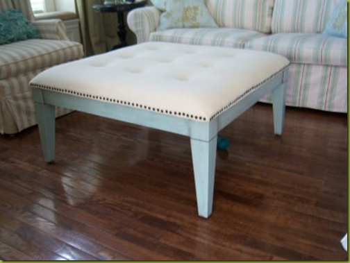 tufted table