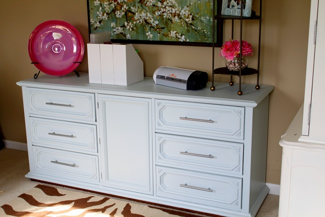 craft room dresser