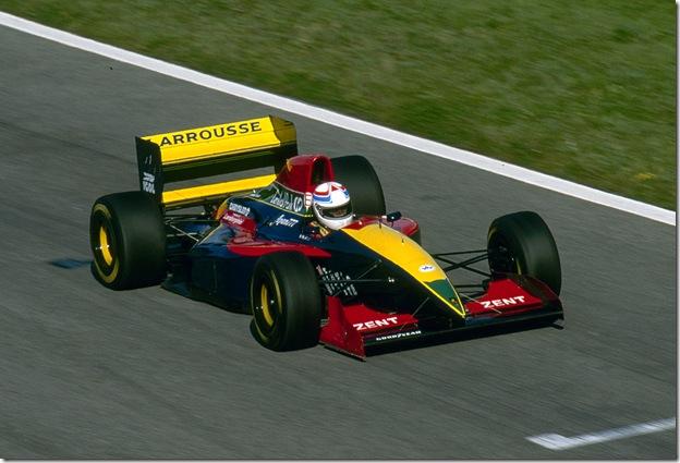 F1DataBase - Philippe Alliot, Larrousse - Grã-Bretanha 1993