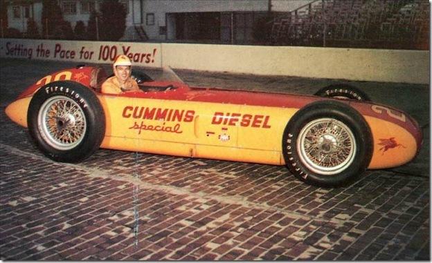 F1DataBase - Fred Agabashian, Kurtis-Cummins Diesel -Indianápolis 1952