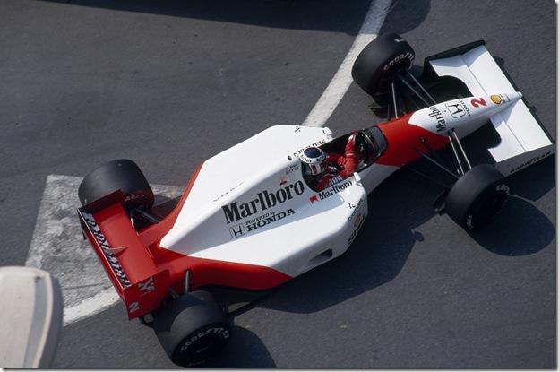 F1DataBase - Gerhard Berger, Mclaren Honda - Mônaco 1992