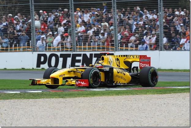 F1DataBase - Robert Kubica, Renault - Austrália 2010
