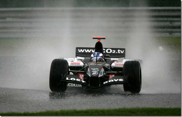 F1DataBase - Robert Doornbos, Minardi - Bélgica 2005