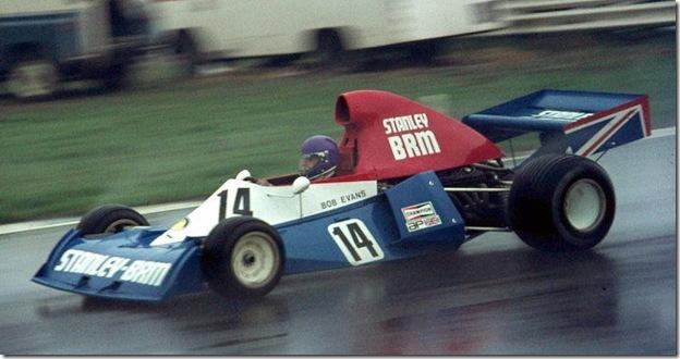 F1DataBase - Bob Evans, BRM - Grã-Bretanha 1975