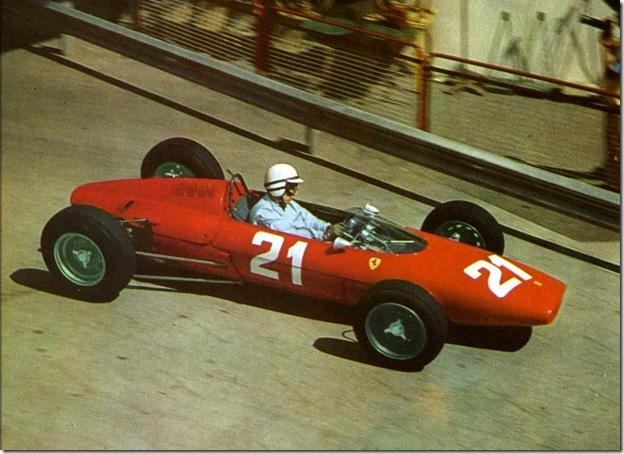 F1DataBase - John Surtees, Ferrari - Monaco 1963