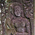 Bayon 2033 The Bayon Goddesses Devata of King Jayavarman VII