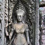 Bayon 2056 The Bayon Goddesses Devata of King Jayavarman VII