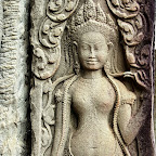 Bayon 2027 The Bayon Goddesses Devata of King Jayavarman VII
