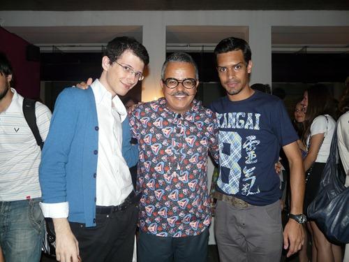 Eu, Ronaldo Fraga e Thiago Phelipe