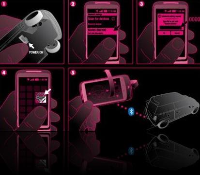 Voiture télé-commandée Bluetooth 3