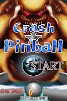 Screenshot of Crash Pinball