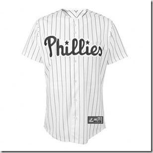 Phillies Jersey B/W
